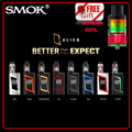100% original smok kit alienígena com smok tanque atomizador para o cigarro eletrônico vaporizador tfv8 bebê dom gratuito skyhook