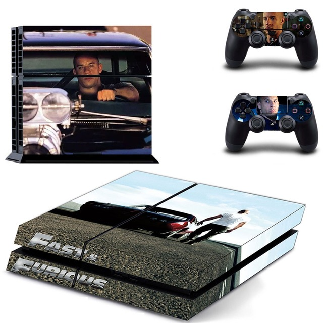 Us 719 10 Offfilm Fast Furious Vin Diesel Ps 4 Aufkleber Ps4 Haut Für Sony Ps4 Playstation 4 Und 2 Controller Skins In Film Fast Furious Vin