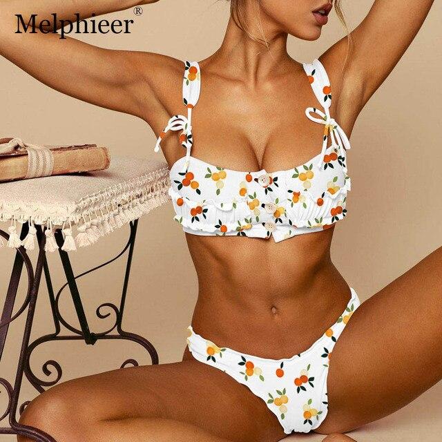 961bc18e18ac Micro Mini Bikinis 2019 Mujer Push Up Brazilian Bikini Set Maillot De Bain  Femme Bandeau Swimsuit