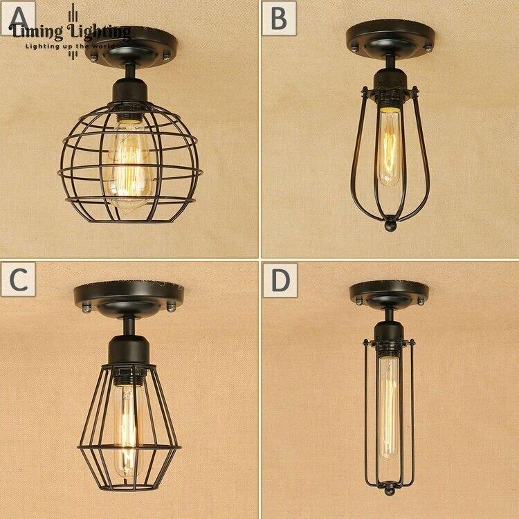 Loft Edison Vintage Ceiling Lamp Fixture Retro Kitchen