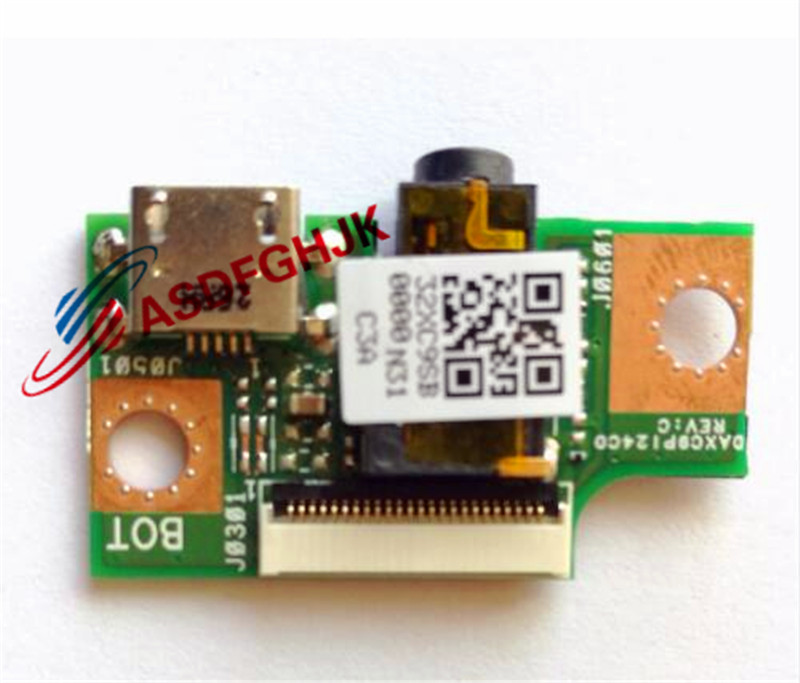 original FOR ASUS T1CHI T100CHI charger USB audio Board DAXC9PI24C0 DAXC9P124C0 100 test OK