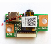 original FOR ASUS T1CHI T100CHI charger USB audio Board DAXC9PI24C0 DAXC9P124C0 100% test OK