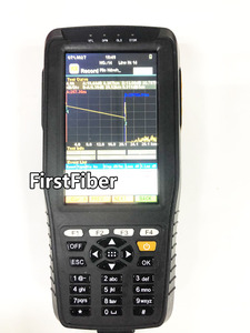 Image 2 - Hoge Precisie OTDR Tester Optical Time Domain Reflectometer 4 in 1 OPM OLS VFL Touch Screen 3m tot 60km Bereik Optische Instrument