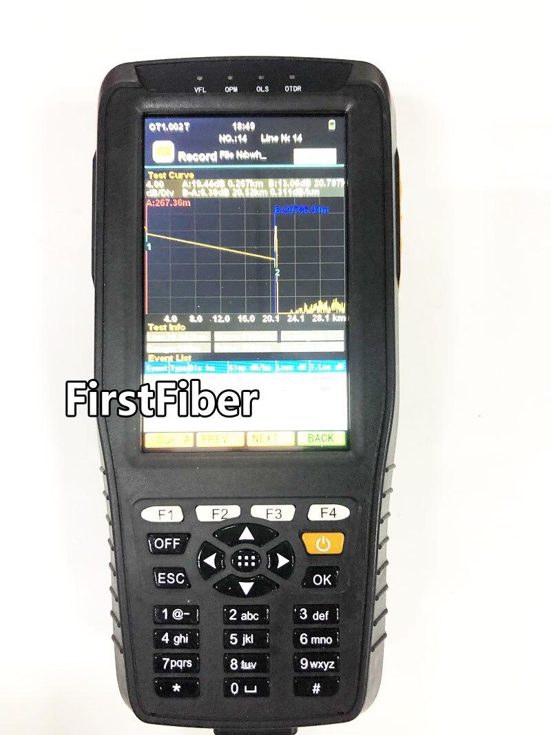 Réflectomètre optique de domaine de temps d'appareil de contrôle d'otdr de haute précision 4 dans 1 OPM OLS VFL Instrument optique de gamme de 3 m à 60 km - 2