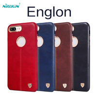Original Nillkin Englon Series Vintage PU Leather Cover Case For IPhone 6 6s Case Back Cover