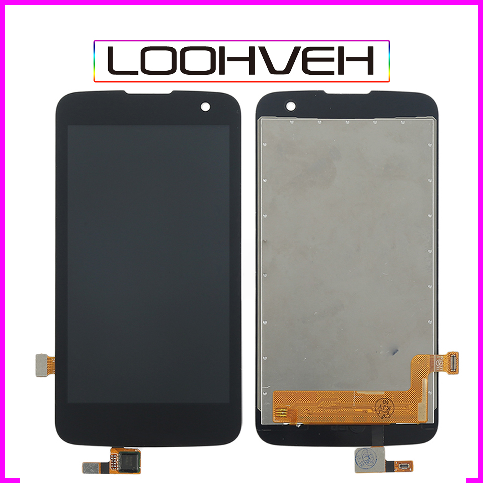 4.5 For LG K4 LTE K120AR K120E K120 VS425 K130 K130E Assembly LCD Display Touch Screen Digitizer with frame High Quality