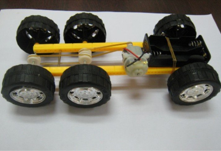Homemade Electric Motor Toy Car Excellent Electrical Wiring