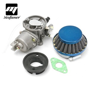 Engine Carb Carburetor Pod Air Filter 2 stroke For 43cc 47cc 49cc Mini Quad Moto ATV Dirt Pocket Bike MiniMoto(China)