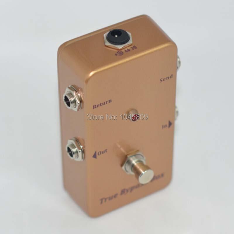 True-Bypass Looper Pedal de efecto Pedal de efecto de guitarra Looper - Instrumentos musicales - foto 2