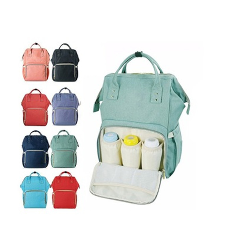 Baby Multifunction Mummy Maternity Nappy Bags Large Capacity Bag Travel Infants Canvas+Oxford Backpack Nursing Bag for Baby CareBaby Multifunction Mummy Maternity Nappy Bags Large Capacity Bag Travel Infants Canvas+Oxford Backpack Nursing Bag for Baby Care