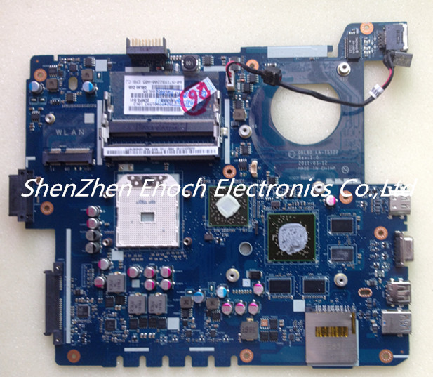 For ASUS X53T K53TA Laptop motherboard with graphics QBL60 LA-7552P 60-N71MB2200-A03