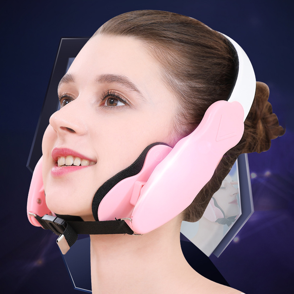 Mandible With Pads Facial Slimming Elastic Face Lifting Device Adjustable Thin Mask Belt Cheekbone Correction Physical Shaping(China)