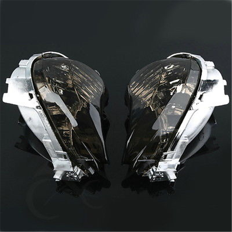 Motorcycle Front Turn Signal Lens For Suzuki Hayabusa GSXR1300 GSX1300R GSXR 1300 2008-2012 SMOKE Clear 2010 2011