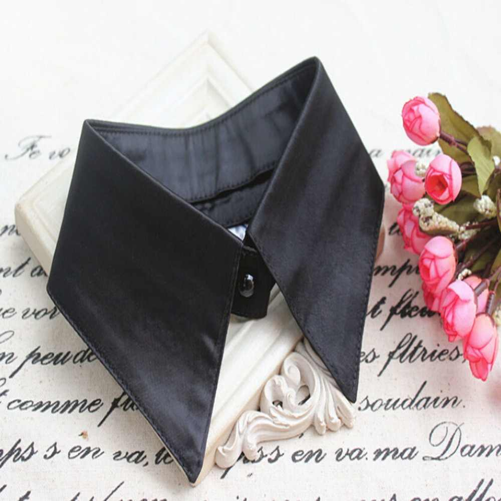 Cổ Giả Nữ Phụ Nữ Trưởng Thành Có Thể Tháo Rời Ve Áo Sơ Mi Giả Cổ Thời Trang Màu Giả Áo Cổ Trụ Quần Áo Phụ Kiện