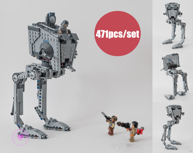 NEW Genuine Rogue One Imperial AT-ST Walker fit legoings star wars figures robot Building Block Bricks diy Toy 75153 gift kid цена 2017