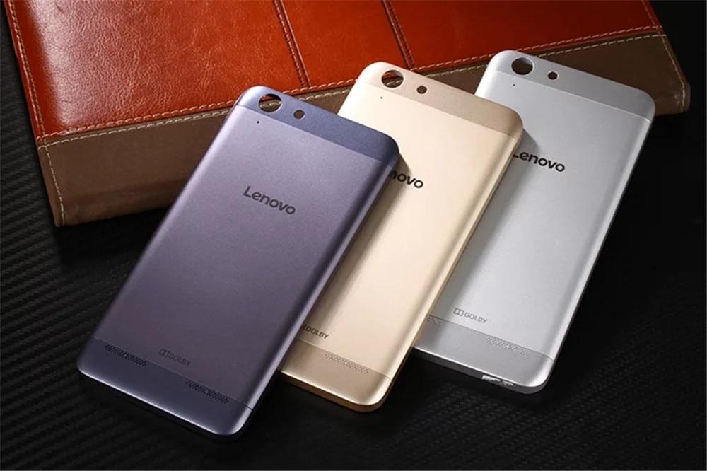 Para lenovo k5 plus original oficial de acrílico teléfono case para lenovo vibe