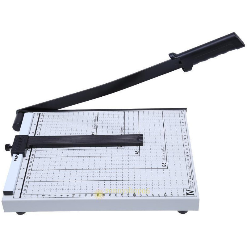 Professional Heavy Duty A4 Paper Guillotine Cutter Trimmer Machine Home Office Supplies