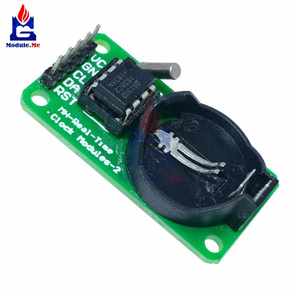 DS1302 часы реального времени модуль с CR2032 для Arduino Uno 30185 AVR ARM PIC SMD