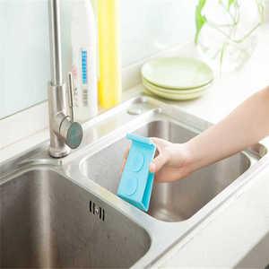 Image 5 - Küche Lagerung Rack Handtuch Seife Dish Halter Küche Waschbecken Gericht Schwamm Lagerung regal Halter Rack Robe Haken Sucker