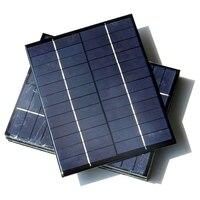 BUHESHUI 5.2 W 12 V Policristalino Del Panel Solar Célula Solar DIY Sistema de Energía Verde 210*165*3 MM 12 unids/lote FreeShipping Al Por Mayor