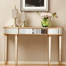 120 см длина зеркальный консольный стол