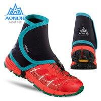 AONIJIE Açık Unisex Yüksek Trail Yansıtıcı Çorapları Koruyucu Ayakkabı Kapakları Koşu Için Koşu Maratonu Yürüyüş Bisiklet