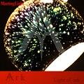 MeetingLight  новый дизайн  диа20см хромированный зеркальный светильник E27  светодиодная Подвесная лампа magic fantasy 3d  фейерверк  стеклянный шар  осве...