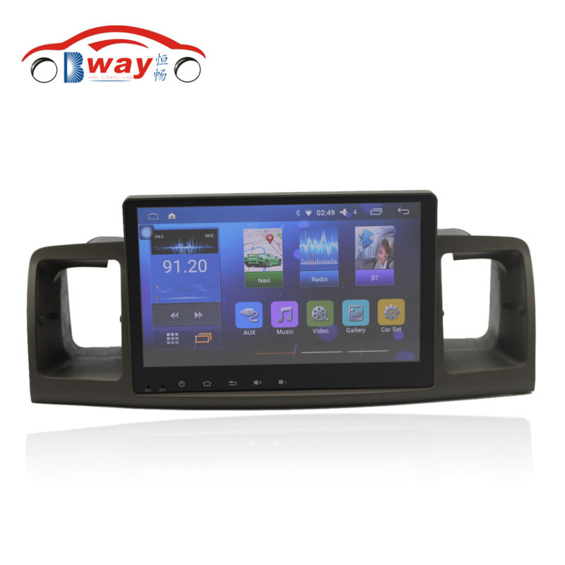 Bway 9 car radio for TOYOTA Corolla EX Corolla E120 android 6 0 1 car dvd