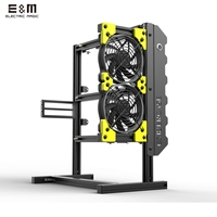 Open Air PC Test Bench ATX Aluminium Chassis Game Vertical Frame Computer Case DIY Kit Water Cooling Overclock PCI HD SSD Fan