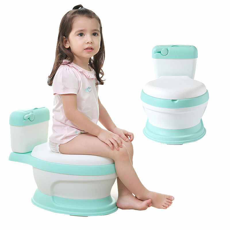 New Style Simulation Baby Toilet Training Small Size Potty For Kids For Free Potty Brush+cleaning Bag