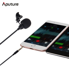 Aputure A.lav ez Broadcast Quality Omnidirectional Lavalier Condenser clip-on Microphone Wind Shield Windscreen for Mobile Phone