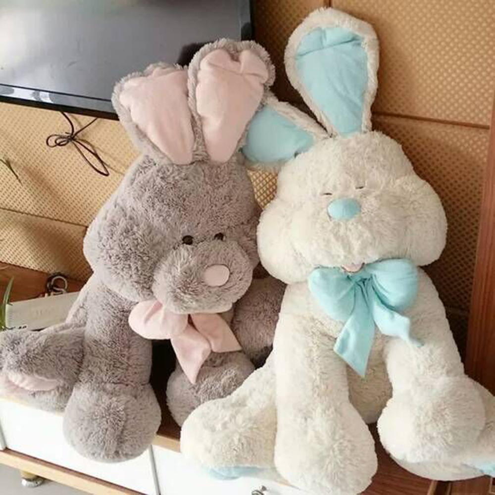 Big stuffed Bonnie Rabbit Plush toy 70cm Rabbit pillow doll super large dolls As christmas/Birthday gift toys for girls/Children big lovey plush pink rabbit toy stuffed smile rabbit pillow birthday gift about 110cm