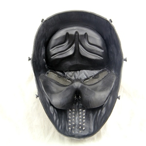 Image 3 - Black God Airsoft Paintball Skull Full Face Protection Mask for Outdoor Wargame Tactical Gear CS War