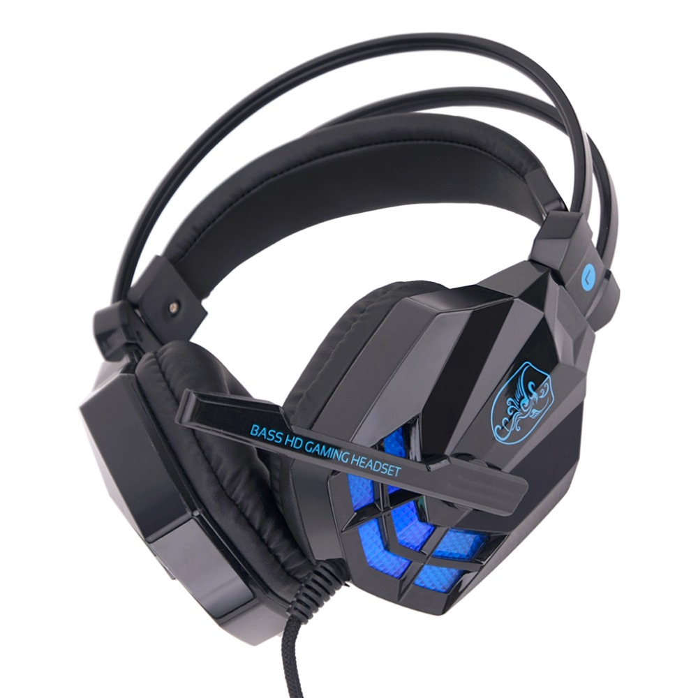 Soyto SY850MV Fashionable Design Gaming Headsets Home Office Wired Noise  Cancelling Headphone With Microphones For Computers