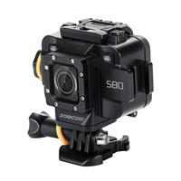 SOOCOO S80 Action Camera Waterproof mini Video Build-in WIFI sport DV sport camera Starlight Night Vision support external mic 2