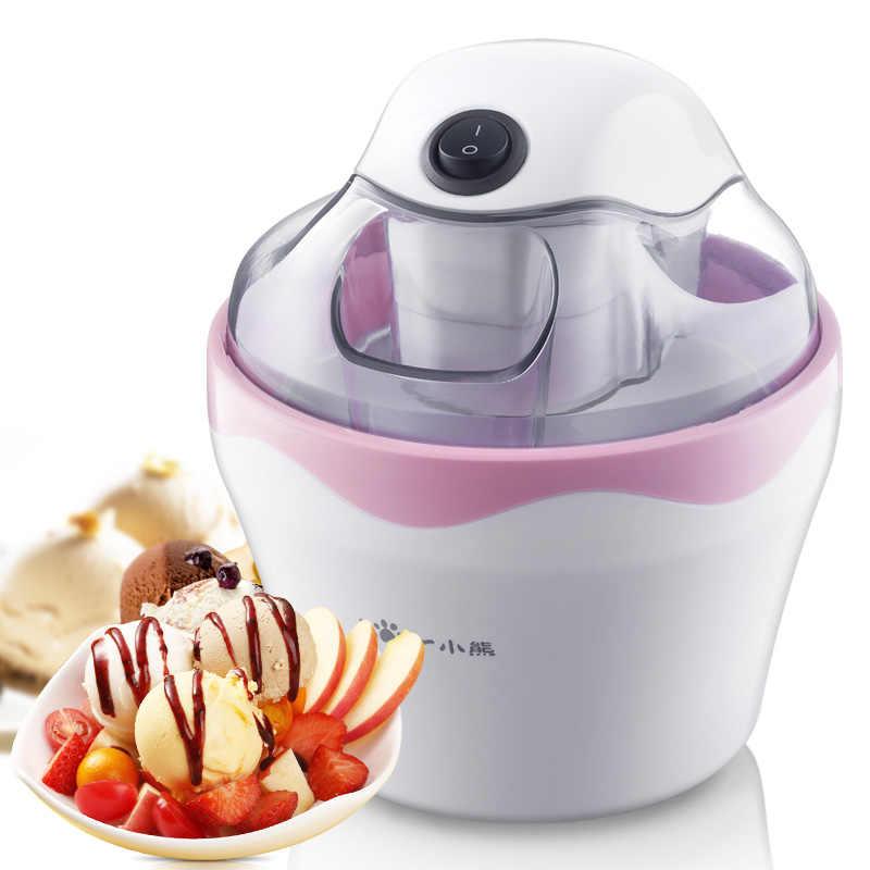 Ice cream máquina do fabricante de sorvete de frutas congeladas ice cream máquina lama máquina de picolé máquina de lanches crianças