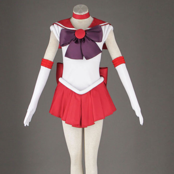 Sailor Moon Anime cosplay Sailor Mars Hino Rei Unisex Harajuku Halloween party cosplay costumes sets Can be customized-in Anime Costumes from Novelty & Special Use    1