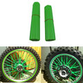 For KAWASAKI Motocross SPOKE SKINS Wheel RIM SPOKE COVERS For KAWASAKI 500 KX 450 KLX250 KLX450R KLR650 SUZUKI DRZ400 RMX250 New