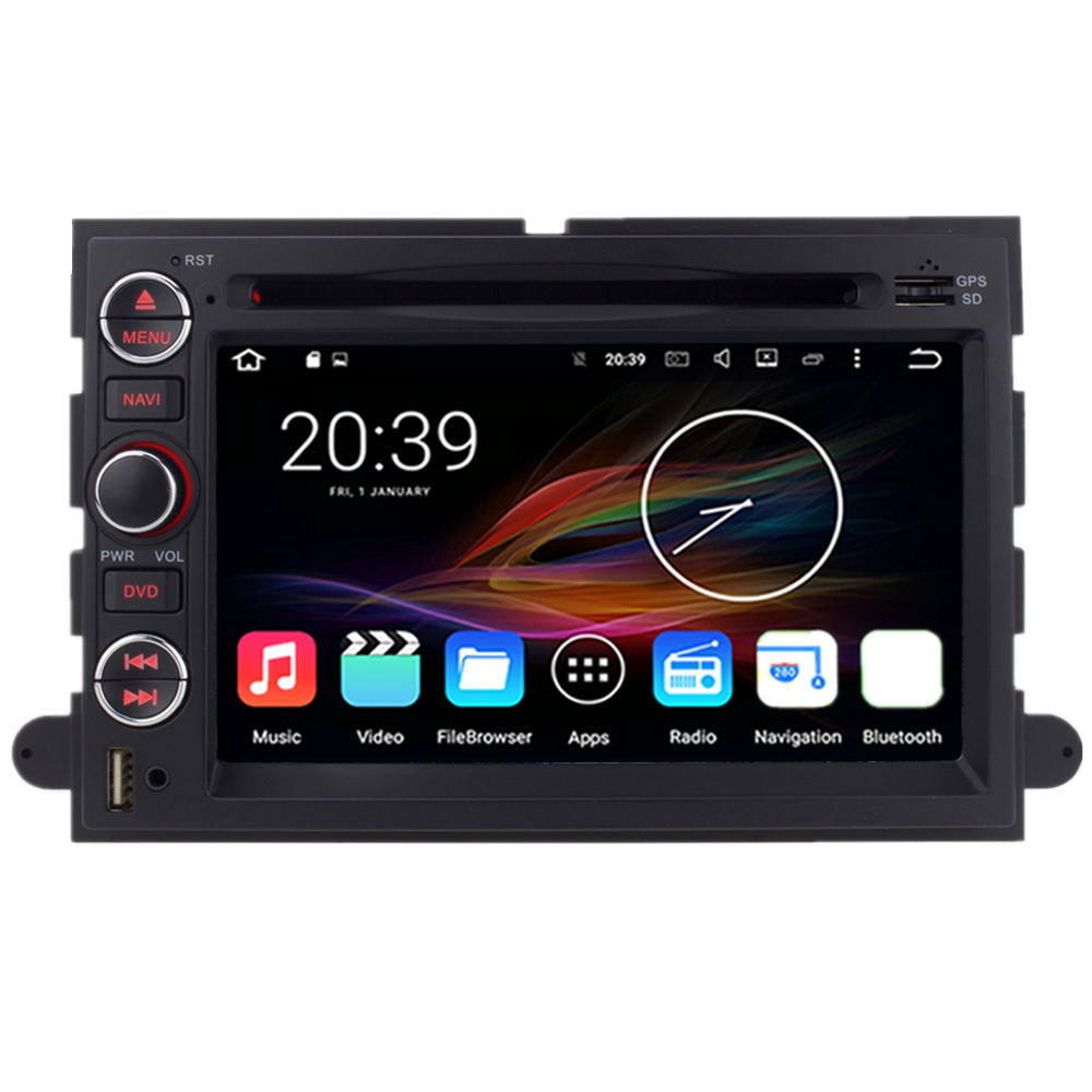 7 octa android car multimedia gps navigatoin dvd radio for ford edge fusion explorer expedition
