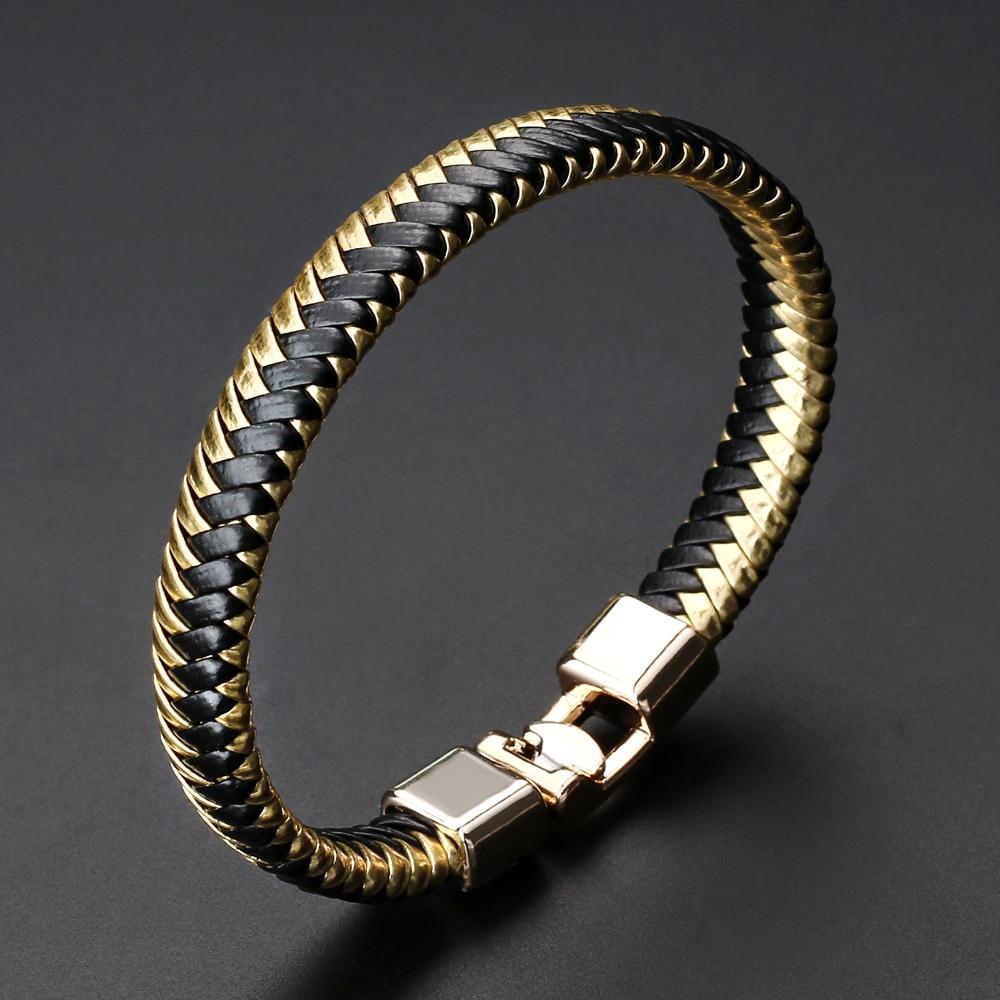 Hand Woven Multi Color Adjustable Leather Womens Bracelet