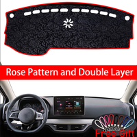Rose Pattern For BYD TANG DM 2018 Dashboard Cover Car Stickers Car Decoration Car Accessories Interior Car Decals