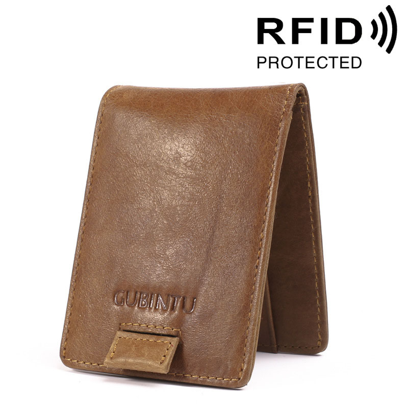 Brand RFID Protected Genuine Leather Multi-function Wallet Credit Card Holder Pack Money Dollar Purse Card Bags Drawing Belt