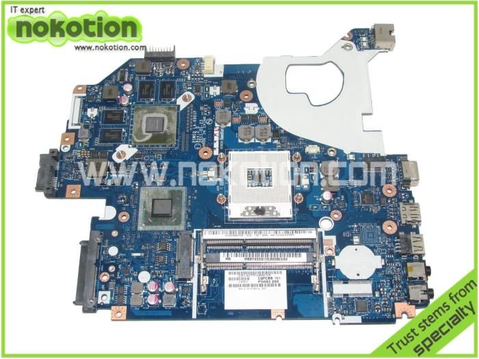 MBBYX02001 LA 6901P for acer aspire 5750 font b MOTHERBOARD b font HM65 NVIDIA G540M DDR3