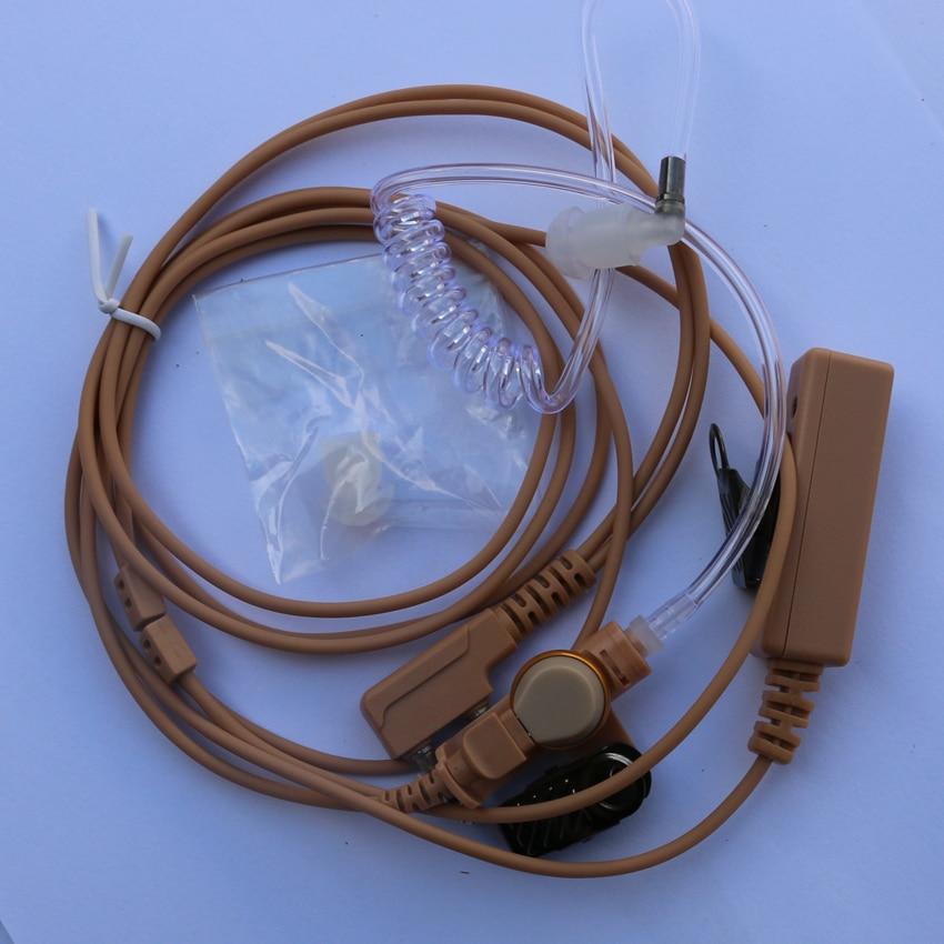 2 Pin Flesh Color Radio Air Earpiece Baofeng UV-5R Accessories PTT For Baofeng UV-5R UV-5RE UV82 Walkie Talkie Set Headset