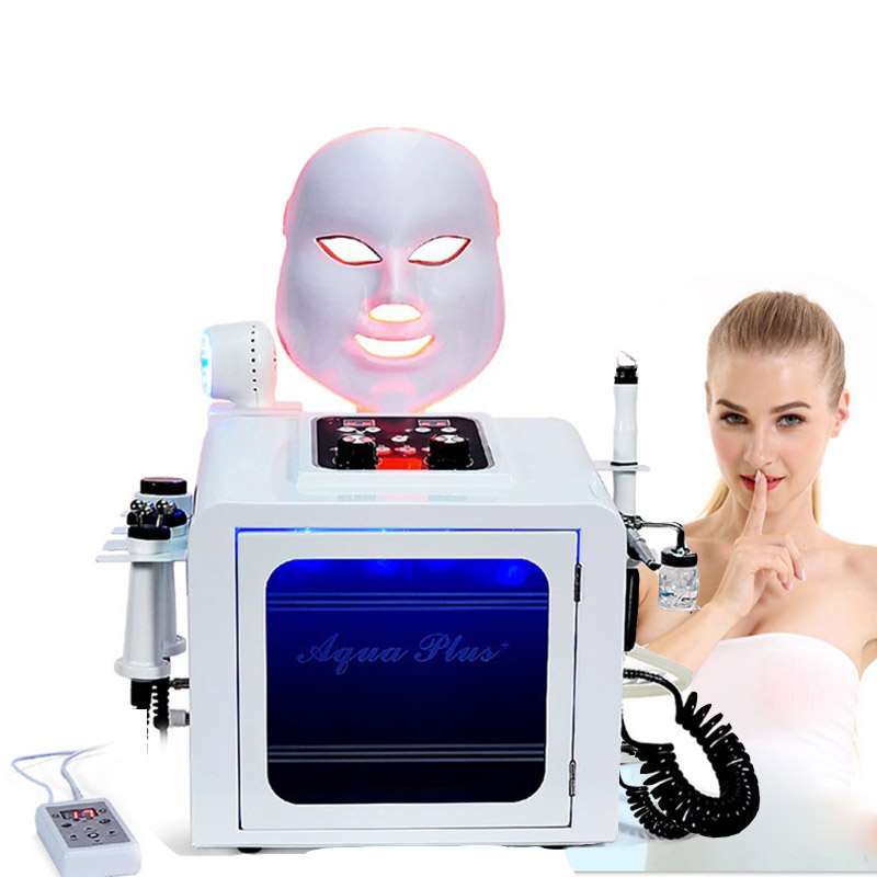 Hydra Dermabrasion RF Bio-lifting Facial Care Machine Hydro Microdermabrasion Facial Machine Water Dermabrasion With Big Pump