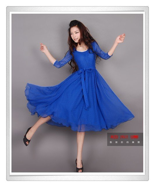 [DEMONSTYLE] new arrival lady;s dress,women's dress QXYL