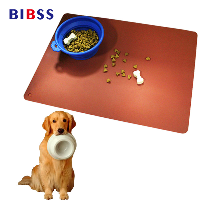 Pet Dog Feeding Mats Waterproof Withstand High