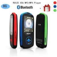 Free Music Downloads Media Bluetooth MP3 Music Player 0f 4gb Can Play100 Hours Original RUIZU X06