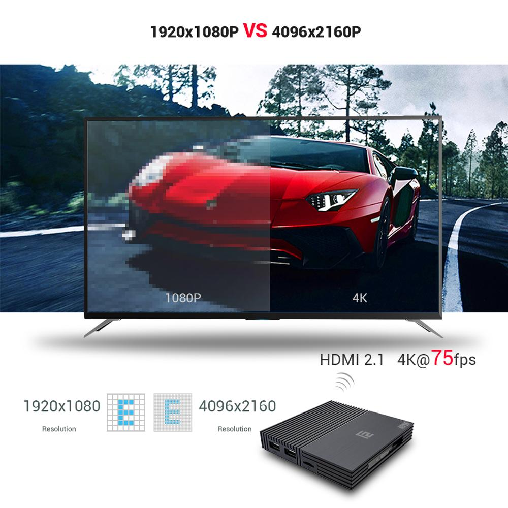 A95X F2 Android 9.0 TV BOX S905 X2 Quad Core 4K 2.4G & 5G Dual Band WIFI RJ45 LAN USB3.0 HDMI spdif Optische Youtube Google Play-in Set-top Boxes van Consumentenelektronica op  Groep 3