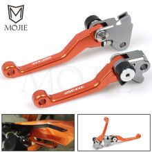 For KTM 250EXC 250EXC-F 350EXC-F 450EXC (SIX DAYS) 2014-2016 2015 250 350 450 EXC F CNC Pivot Brake Clutch Levers Dirt Bike clutch cover protection cover water pump cover protector for ktm 350 exc f excf 2012 2013 2014 2015 2016